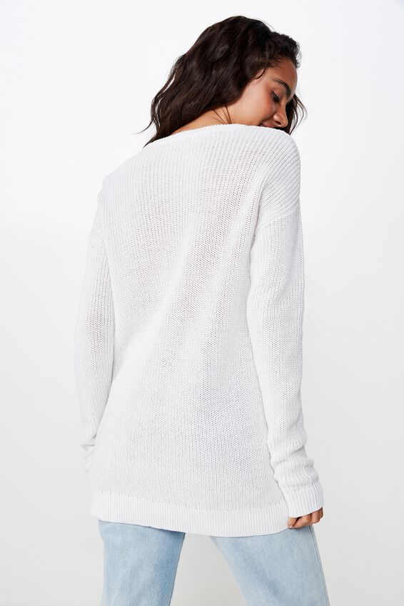 Archy 6 Pullover, WINDSTREAM WHITE TWIST