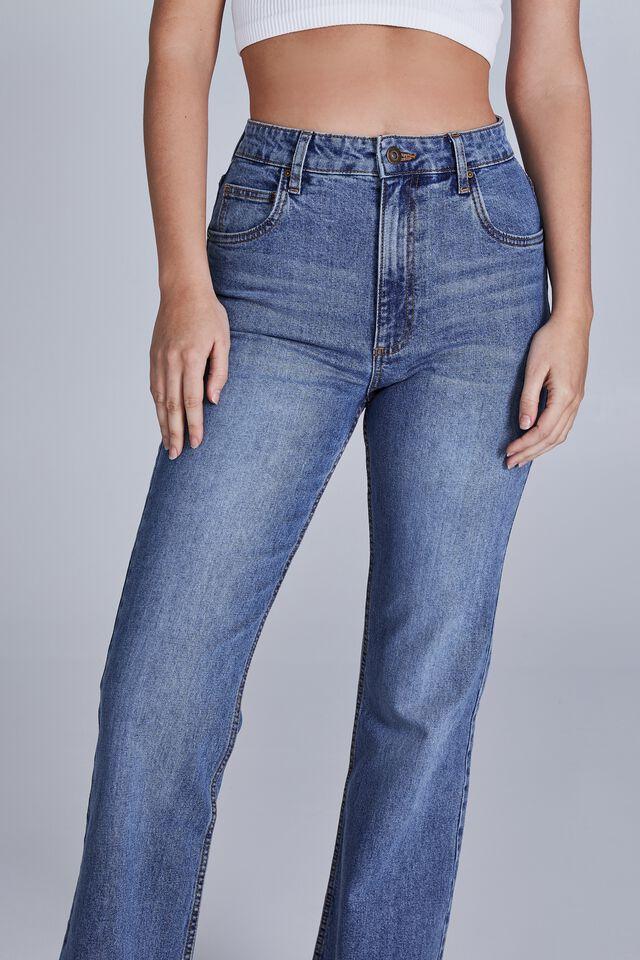 Original Flare Jean, BAY BLUE