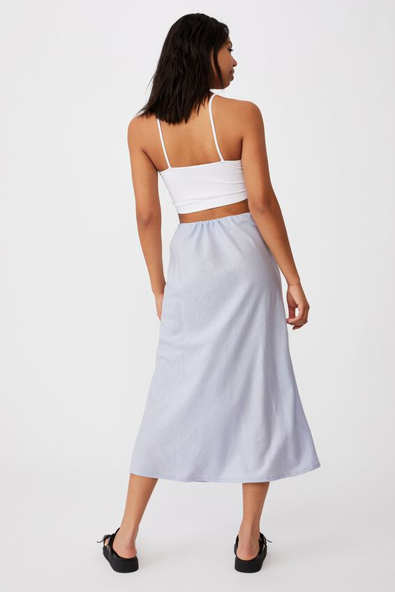 Sunset Lover Midi Skirt, COOL BLUE