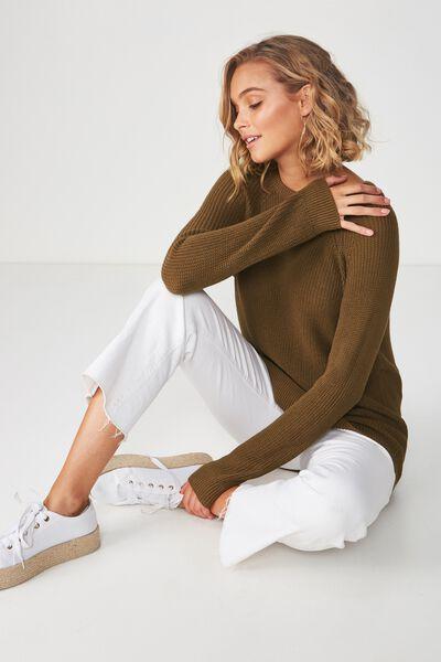 Archy 5 Pullover, COFFEE LIQUOR