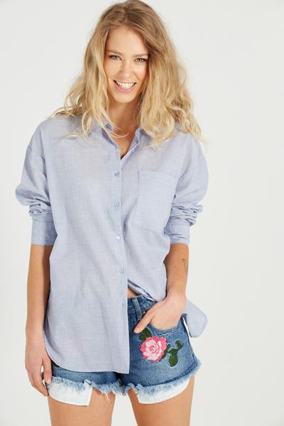 Millie Shirt, CHAMBRAY