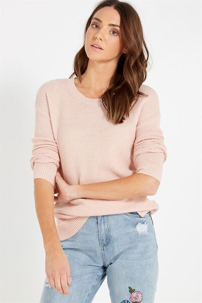 Archy 3 Pullover, PETAL PINK
