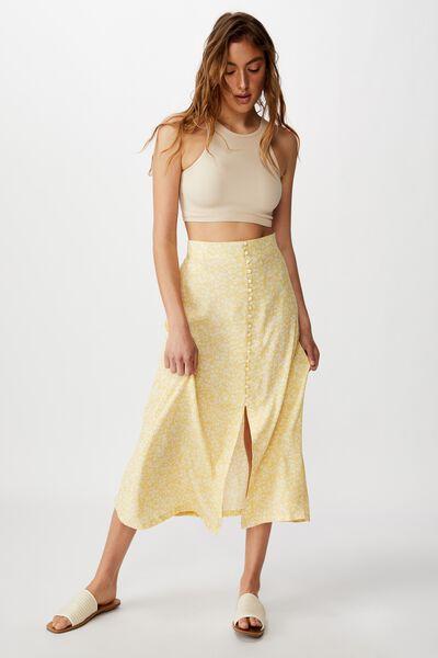 Summer Button Midi Skirt, TAYLAH DITSY SUNDRESS