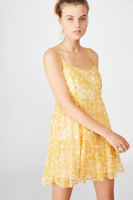 Woven Jordy Ruffle Mini Dress, JULIA FLORAL MANGO