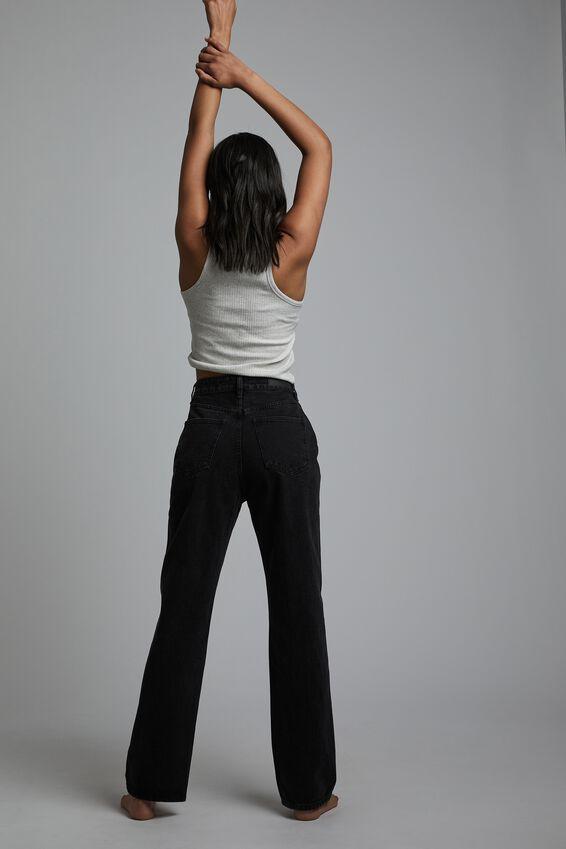 Baggy Straight Jean, MIDNIGHT BLACK
