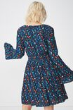 Woven Nadine Tea Dress, DAISY MULTI MOONLIGHT