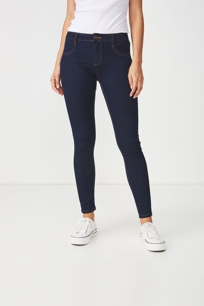 Mid Rise Jegging, RINSE