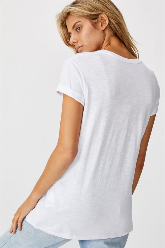 Classic Slogan T Shirt, YOU ARE MORE THAN ENOUGH/WHITE SLUB