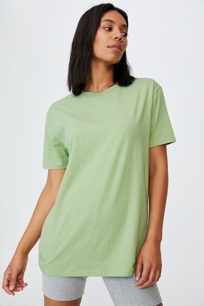 The Oversized Dad Tee, DUSTY MINT