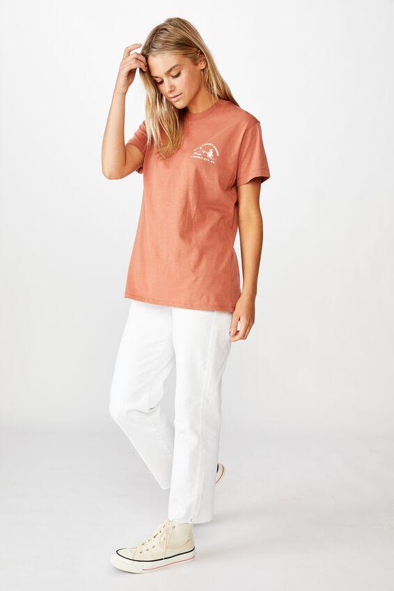Classic Arts T Shirt, EAST DESERT RANGE/COPPER BROWN