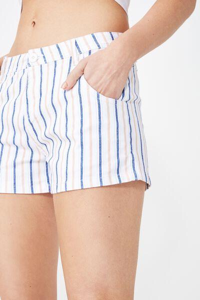Panel Pocket Chino Short, VIVVY STRIPE TUSCANY