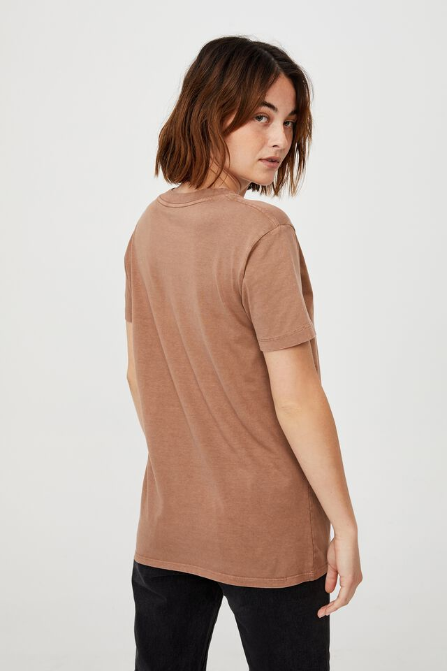 Classic Organic Cotton Graphic T Shirt, BE KIND/COCOA BEAN