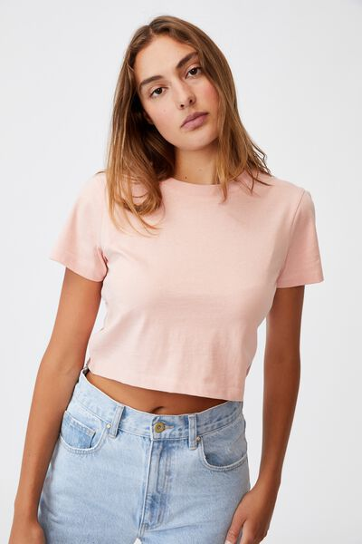 The Baby Tee, DUSK PINK