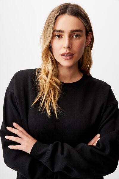 Classic Sweatshirt, BLACK