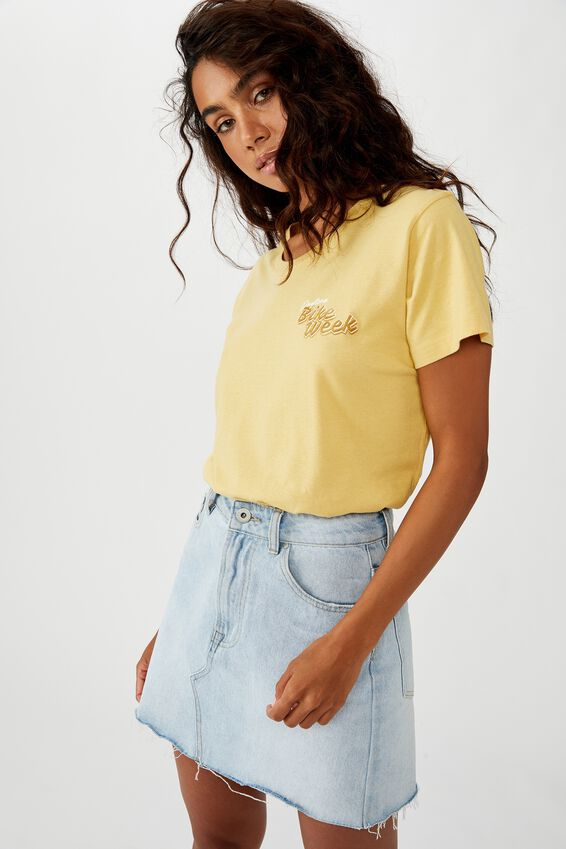Classic Vintage T Shirt, BIKE WEEK/COCOON
