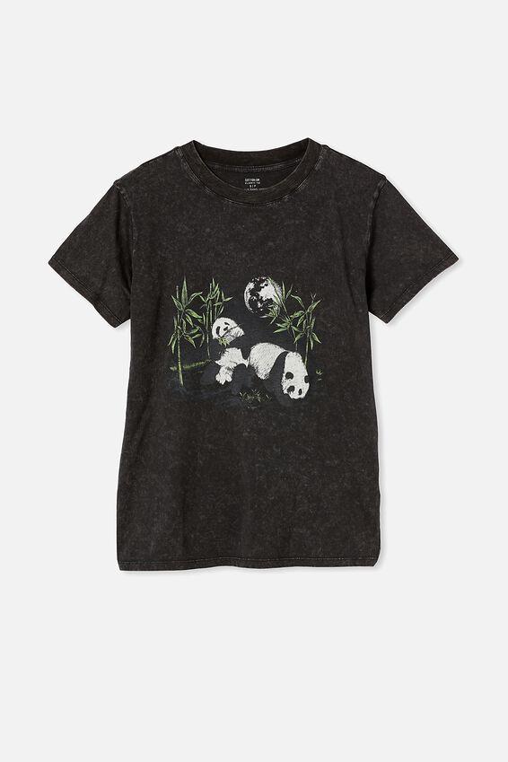 Classic Arts T Shirt, PANDA/BLACK