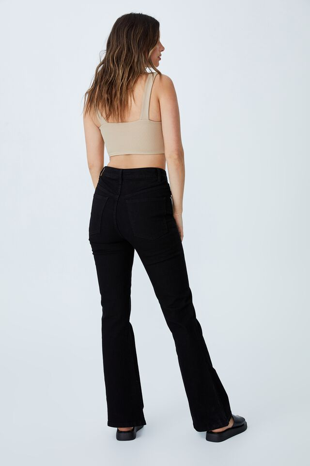 Day To Night Bust Crop Top, LINEN TAUPE