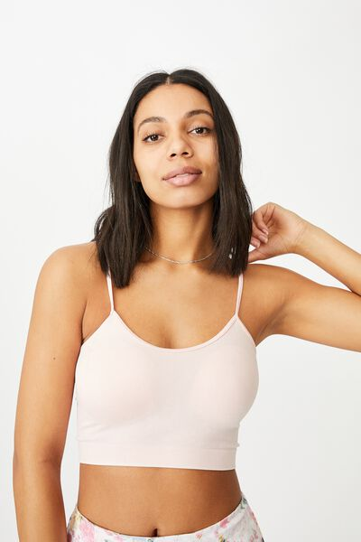 Isla Seamfree Cami, WASHED ROSE PINK