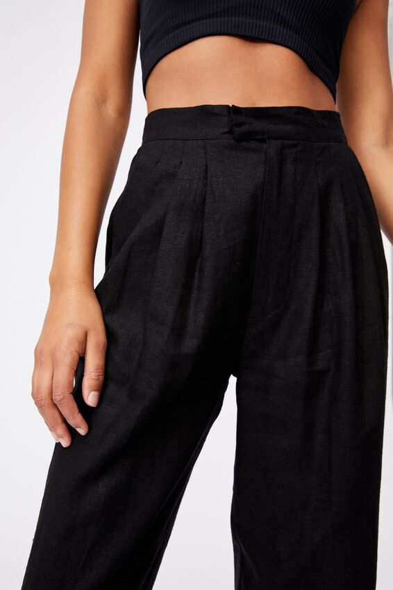 Ultimate Pleat Pant, BLACK
