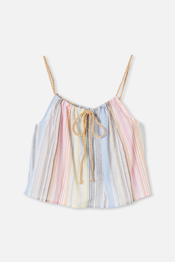 Summer Vibes Relaxed Cami, TIANA STRIPE MULTI