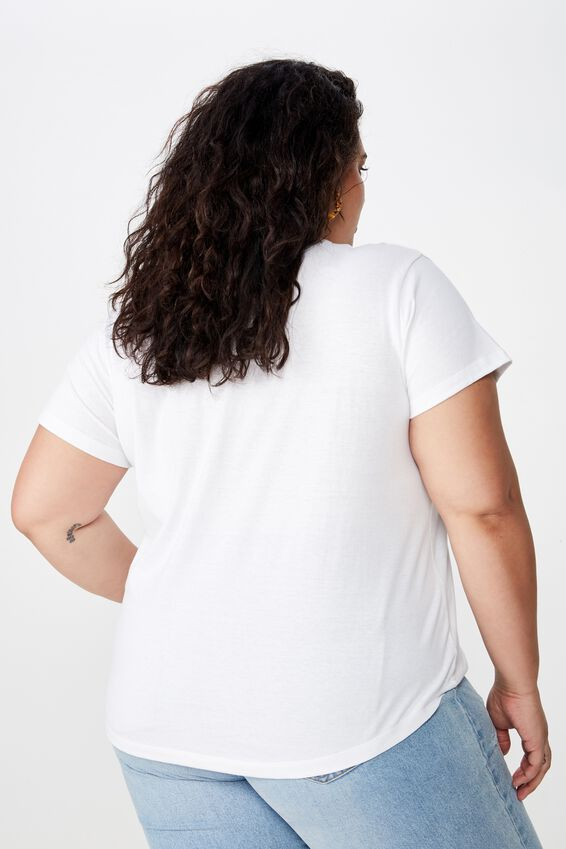 Curve Graphic Tee, NEW YORK CITY/WHITE