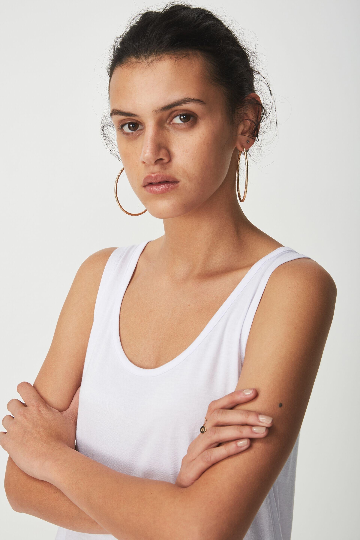 Maria Tank Top, WHITE. Cotton On Women
