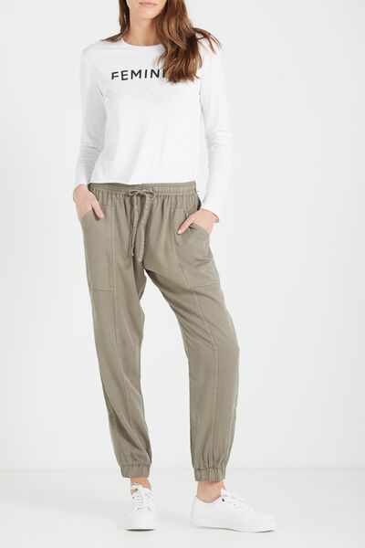 The Light Weight Chino, SOOT PANELS
