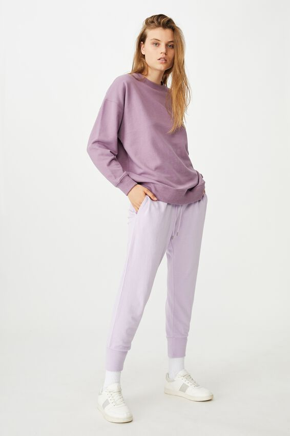 Your Favourite Track Pant, FROSTY LILAC