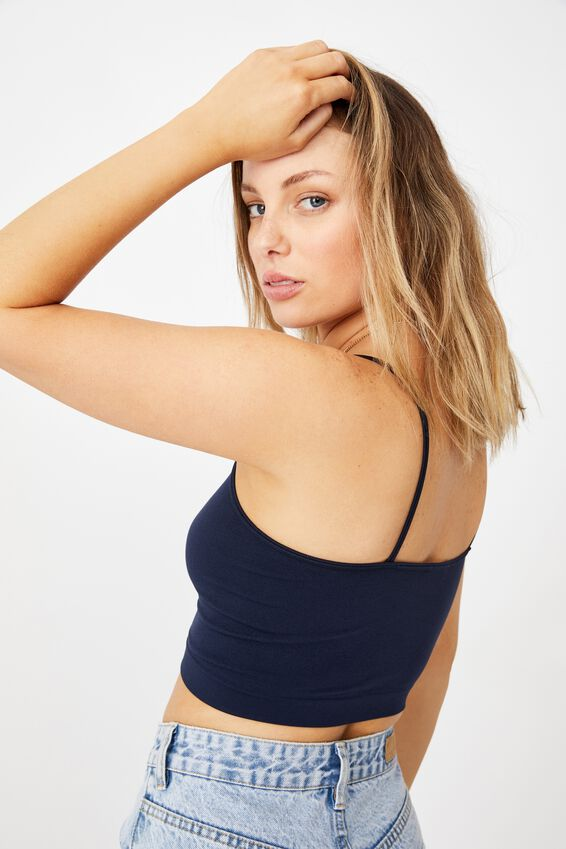 Isla Seamfree Cami, WASHED NAVY
