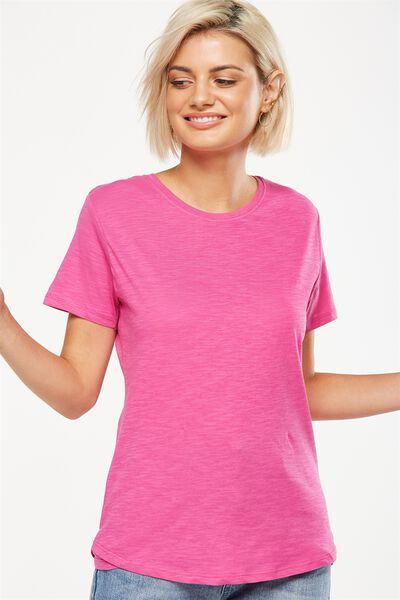 The Crew T Shirt, ROSE VIOLET