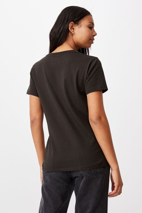 Classic Hip Hop T Shirt, LCN BR EMINEM SHOW/WASHED BLACK