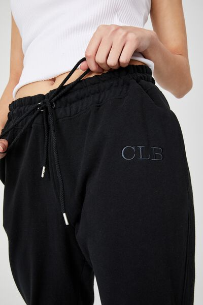 Your Favourite Track Pant_Personalised, WASHED BLACK
