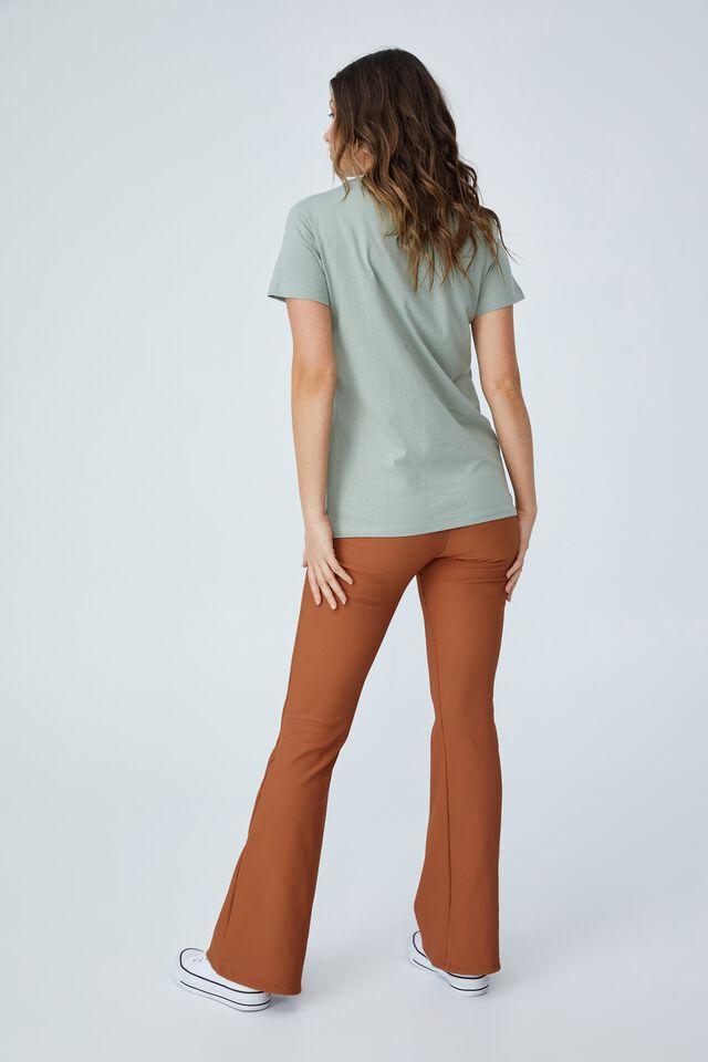 Classic Organic Cotton Graphic T Shirt, STAY WILD/SAGE