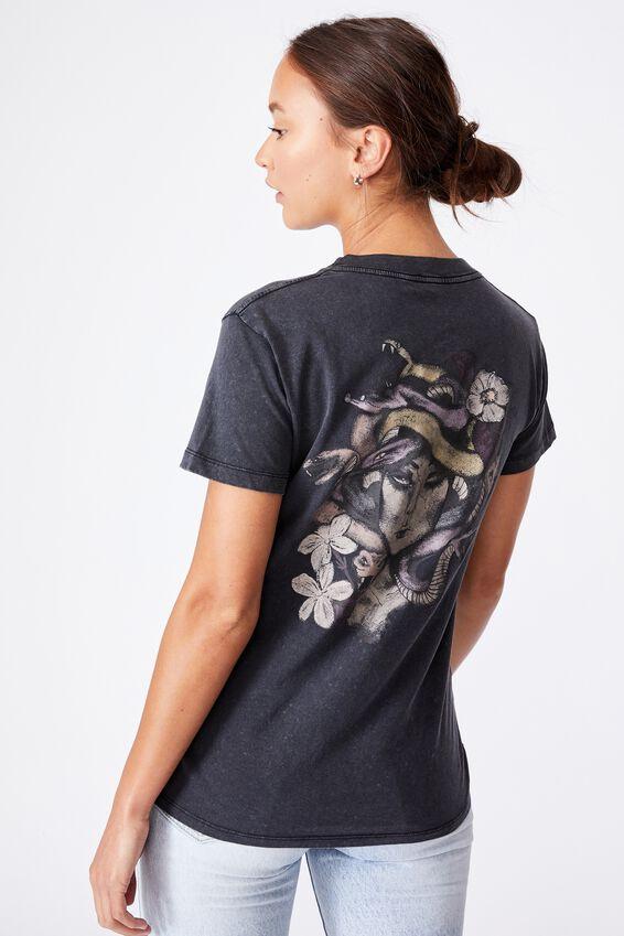 Classic Arts T Shirt, MEDUSA/BLACK