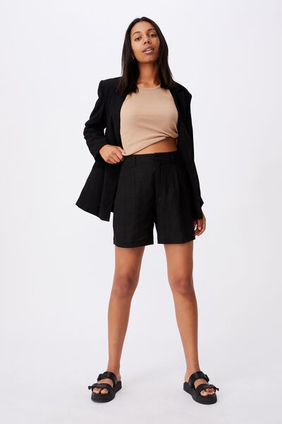 Ultimate Smart Short, BLACK