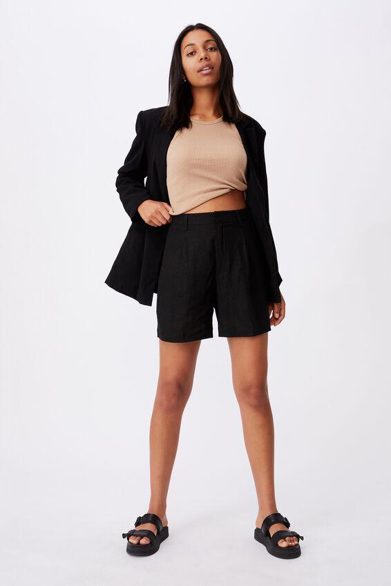 Ultimate Smart Short, BLACK