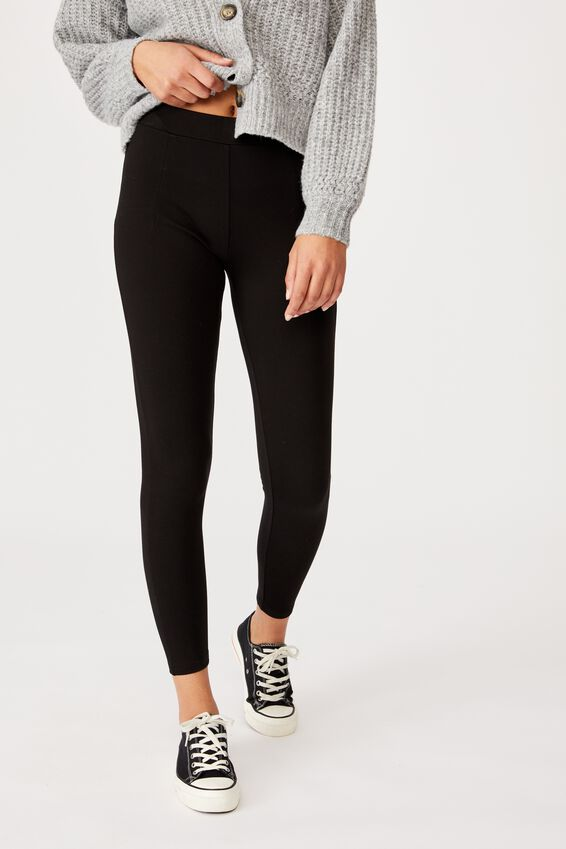 Ponti Legging, BLACK