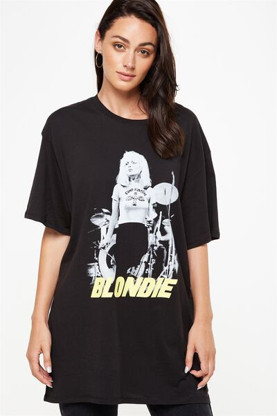 The Graphic Boyfriend Tee, LCN BLONDIE/BLACK