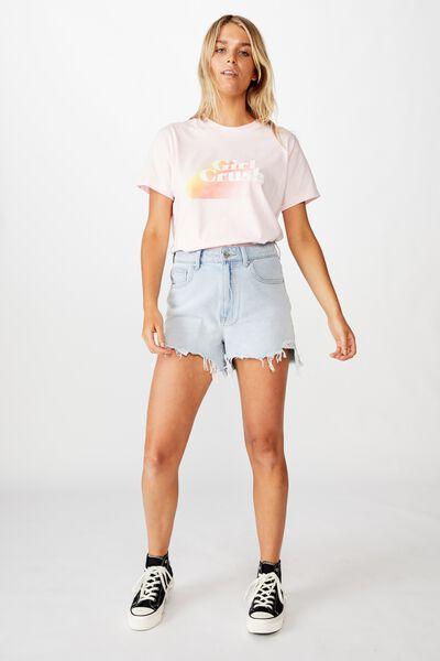 Classic Iwd T Shirt, GIRL CRUSH/CHERRY BLOSSOM