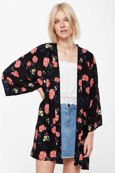Holly Kimono, ALICIA FLORAL MULTI