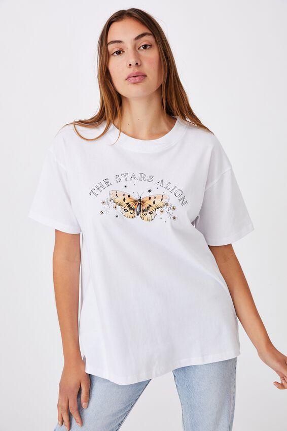 The Original Graphic Tee, STARS ALIGN/WHITE