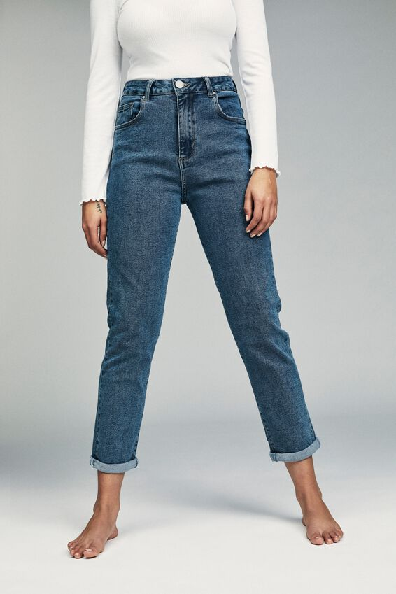 Stretch Mom Jean, BERKLEY BLUE