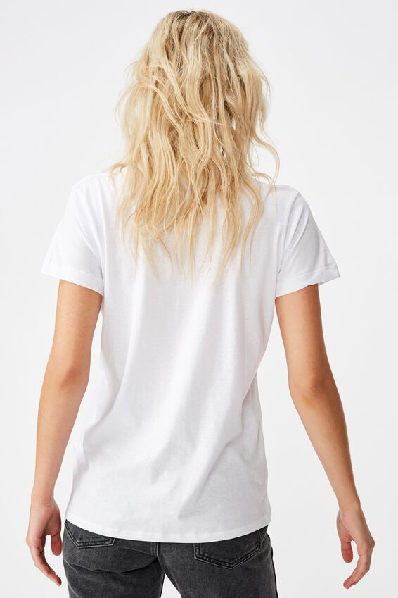 Classic Tv Movie T Shirt, LCN FRE NEIGHBOURS LOGO/WHITE