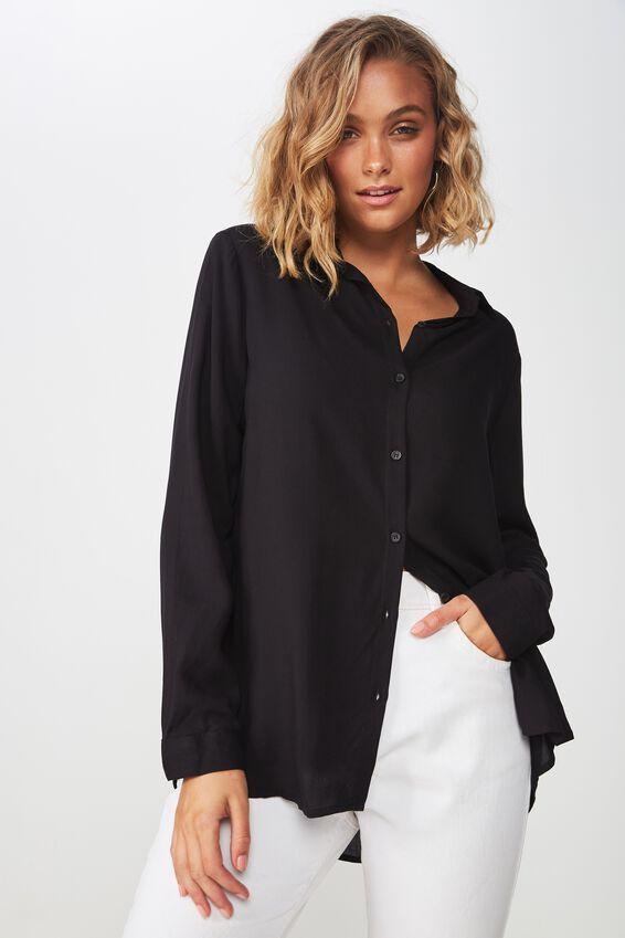 Rebecca Shirt, BLACK