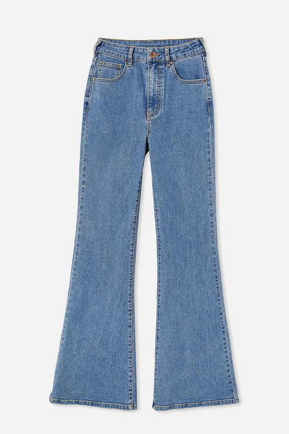 Original Flare Jean, LUCKY BLUE