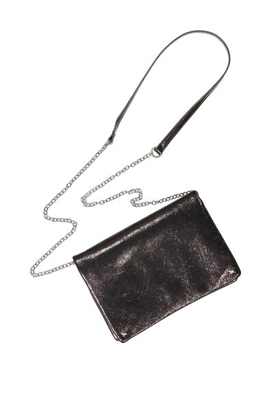 Elise Evening Handbag, BRONZE