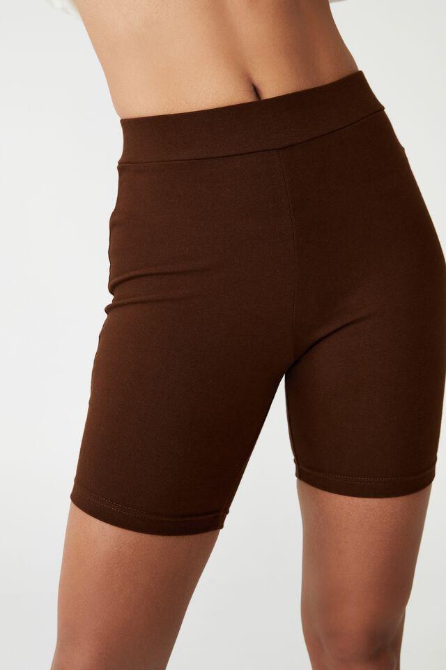 The Pip Jersey Bike Shorts, RICH CHOCOLATE