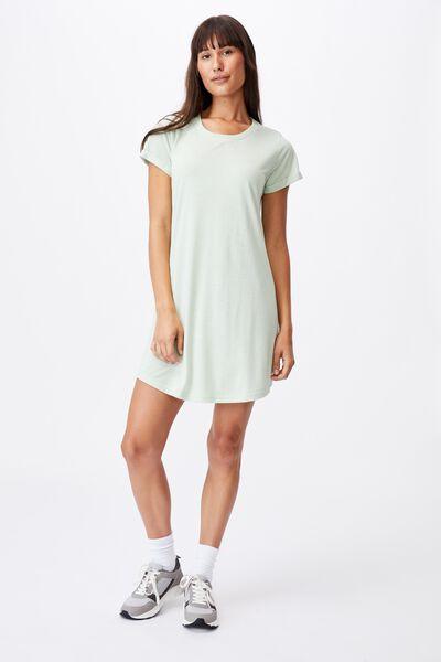 Tina Tshirt Dress 2, SPRING MINT MARLE
