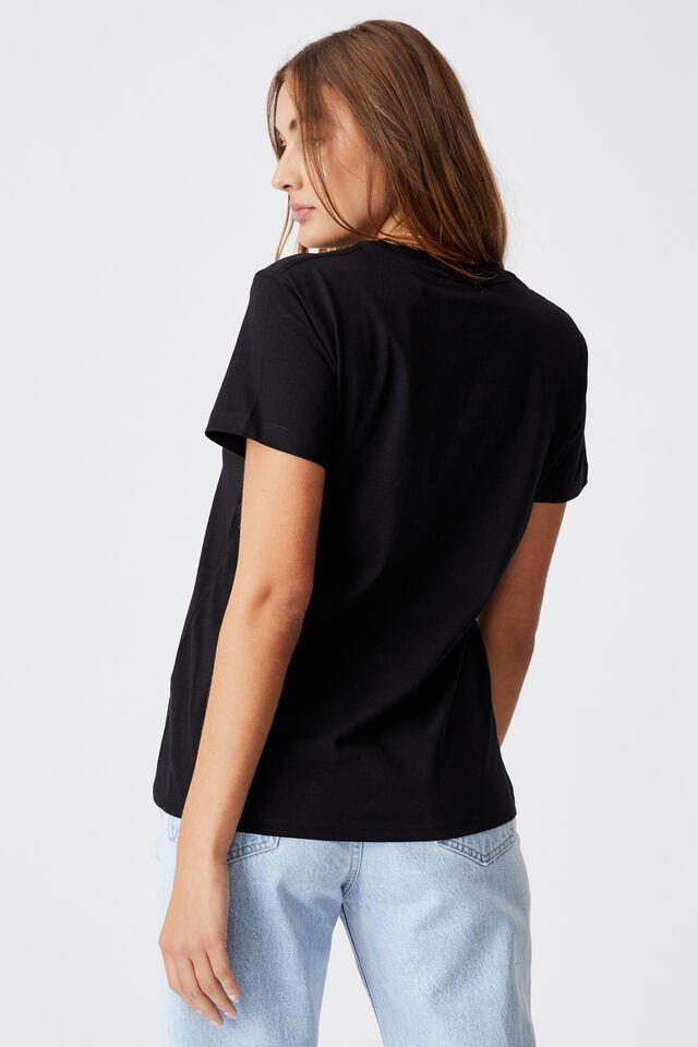 Classic Pink Floyd T Shirt, LCN PER PINK FLOYD GALAXY/BLACK