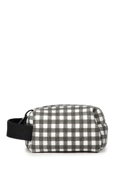 Small Kylie Cos Case, GINGHAM PRINT